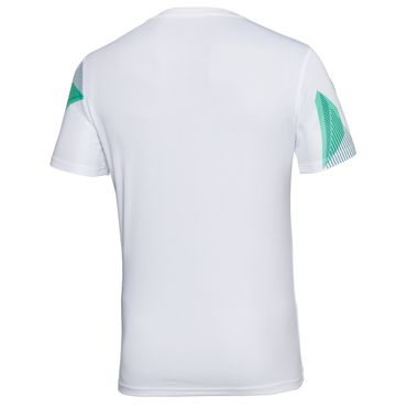 Imany Tech V-Neck Tee - white/green/black (SP18) – Bild 2