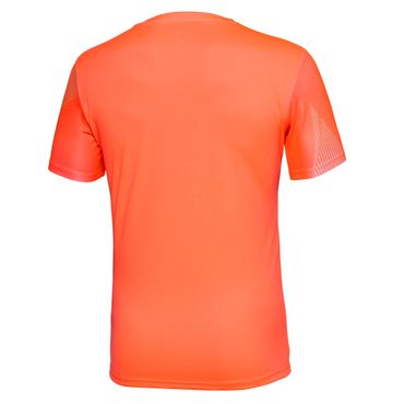 Imany Tech V-Neck Tee - neonorange/icegreen (FS18)