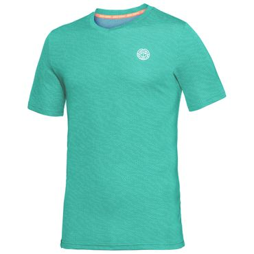 Falou Tech V-Neck Tee - icegreen/white (FS18) – Bild 1