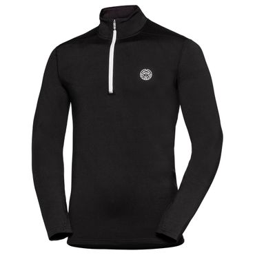 Luca Tech Half-Zip Longsleeve - black (SP18) – Bild 1