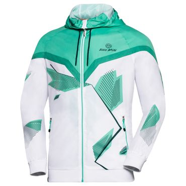 Alex Tech Windbreaker - white/icegreen (SP18) – Bild 1