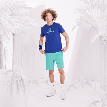 Will Basic Logo Tee - blue/icegreen (FS18) – Bild 3