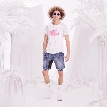 Kione Lifestyle Tee - white/pink (FS18) – Bild 3
