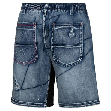 Lelex Tech 2in1 Short - jeansblue (FS18) – Bild 2