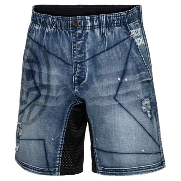Lelex Tech 2in1 Short - jeansblue (FS18) – Bild 1