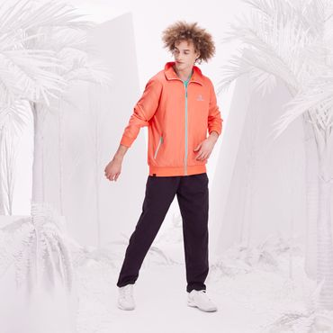 Fela Tech Tracksuit - neonorange/black/green (FS18) – Bild 5