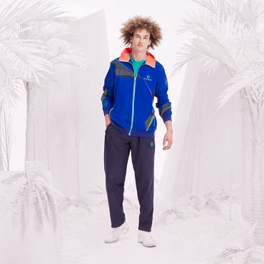 Fela Tech Tracksuit - blue/black/green/neonorange (SP18) – Bild 5