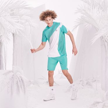 Henry Tech Shorts - icegreen/white (FS18) – Bild 5