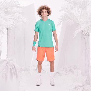 Henry Tech Shorts - neonorange/white (SP18) – Bild 6