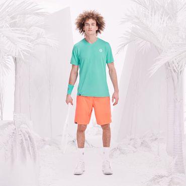 Henry Tech Shorts - neonorange/white (FS18) – Bild 6