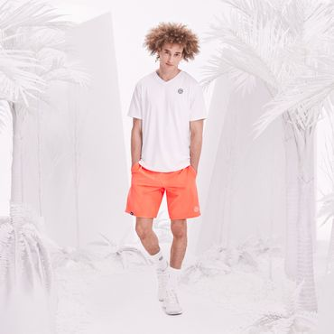 Henry Tech Shorts - neonorange/white (SP18) – Bild 3