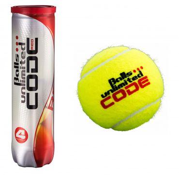 Balls Unlimited Code Red - Carton of 18 Balls Cans – Bild 1