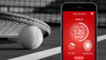 QLIPP Plus Tennis Sensor mit App für iOS & Android – Bild 6
