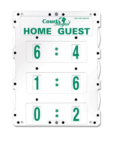COURT ROYAL POINTER HEAVY II FREESTANDING - WHITE – Bild 2