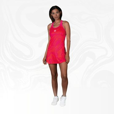 Saira Tech Dress (3 in 1) - red/pink (FA18) – Bild 7