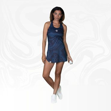 Saira Tech Dress (3 in 1) - antracite/darkblue (FA18) – Bild 7