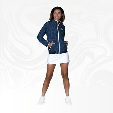 Liza Tech Jacket - antracite/darkblue (HW18) – Bild 3