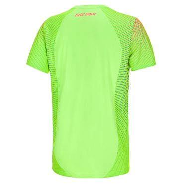Aro Tech Round-Neck Tee - neongreen/orange/blue (HW18) – Bild 2