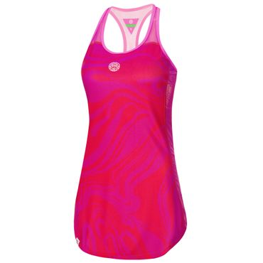 Mira Tech Dress (2 in 1) - red/pink (HW18) – Bild 1