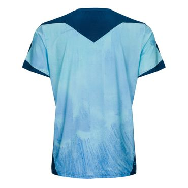 Nathan Tech Round-Neck Tee - blue/darkblue (SP19) – Bild 2