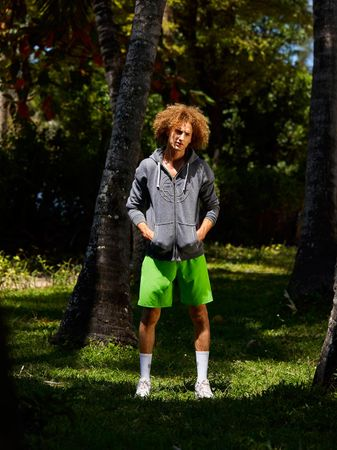 Henry Tech Shorts - neongreen (SP19) – Bild 4