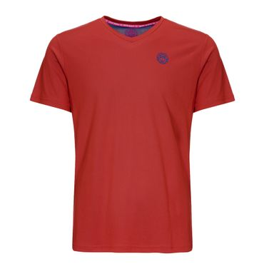 Ted Tech Tee - red/blue (SP19) – Bild 1