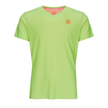 Evin Tech Round-Neck Tee - neongreen/neonorange (SP19) – Bild 1