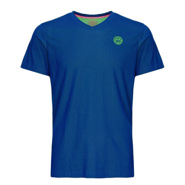 Ted Tech Tee - blue/neongreen (SP19) – Bild 1