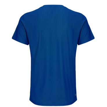 Evin Tech Round-Neck Tee - blue/neongreen (SP19) – Bild 2