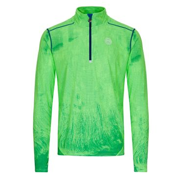 Zac Tech Longsleeve - neongreen/blue (SP19) – Bild 1