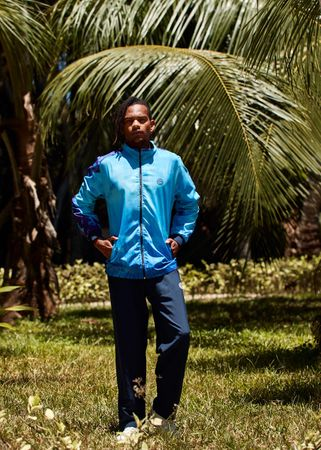 Ethan Tech Tracksuit - blue/darkblue (SP19) – Bild 5