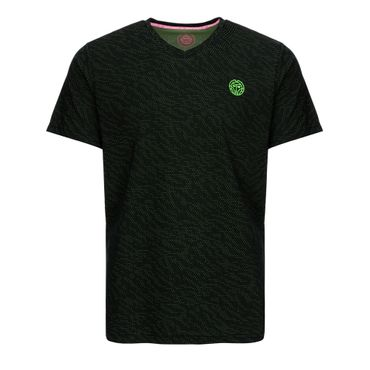 Spike Tech Tee - black/neongreen (SP19) – Bild 1