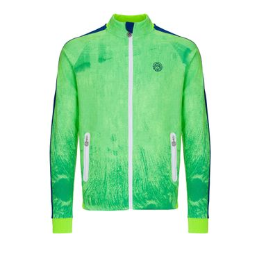 Aton Tech Jacket - neongreen/blue (SP19) – Bild 1