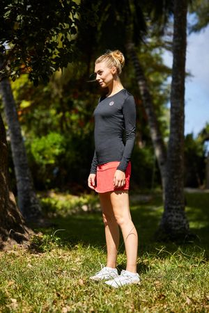 Kate Tech Skort - red (SP19) – Bild 5