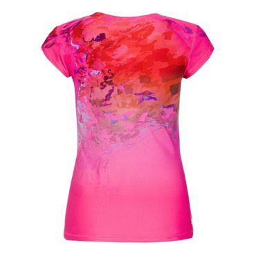 Bella 2.0 Tech V-Neck Tee - pink/red (SP19) – Bild 2