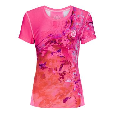 Sunny Tech Roundneck Tee - pink/red (SP19) – Bild 1