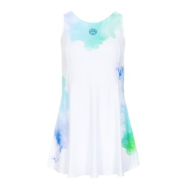 Maisie Tech Dress (3 in 1) - white/blue/green (SP19) – Bild 1