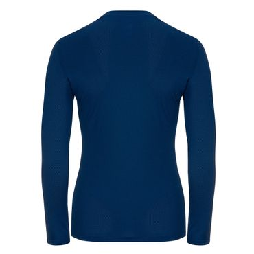 Pia Tech Roundneck Longsleeve - darkblue (SP19) – Bild 2