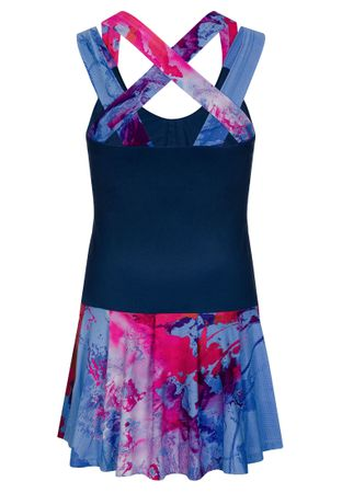 Lipa Tech Dress (2 in 1) - darkblue/red/blue (SP19) – Bild 2