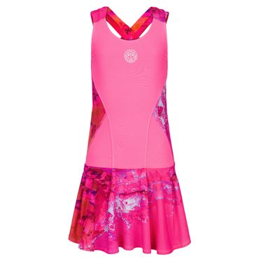 Zade Tech Dress (2 in 1) - pink/red (SP19) – Bild 1