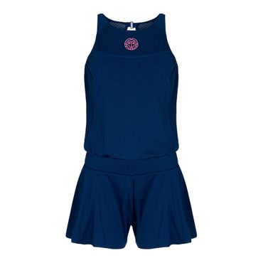 Rae Tech Jumpsuit (2 in 1) - darkblue/pink (SP19) – Bild 1