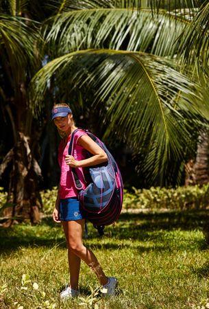 Saba Racketbag - darkblue/pink (SP19) – Bild 2