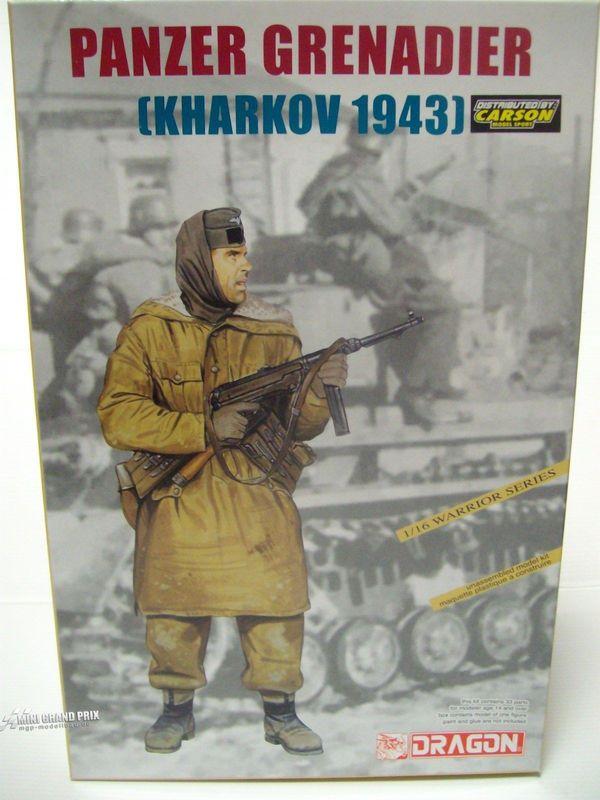 Dragon 1:16 Panzergrenadier (Kharkov 1943) Bausatz 1613