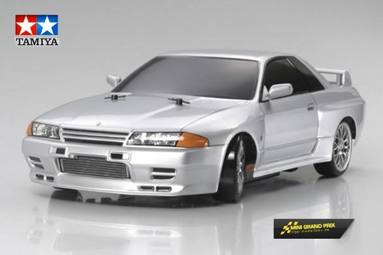 Tamiya 1:10 Karosserie-Satz Nissan Skyline GT-R (R32)  51365  unlackiert