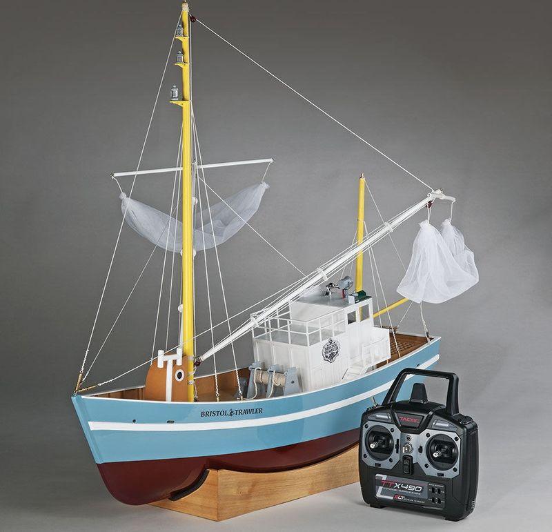 AquaCraft Bristol Trawler Fischkutter 2.4GHz RTR AQUB5719 – Bild 7