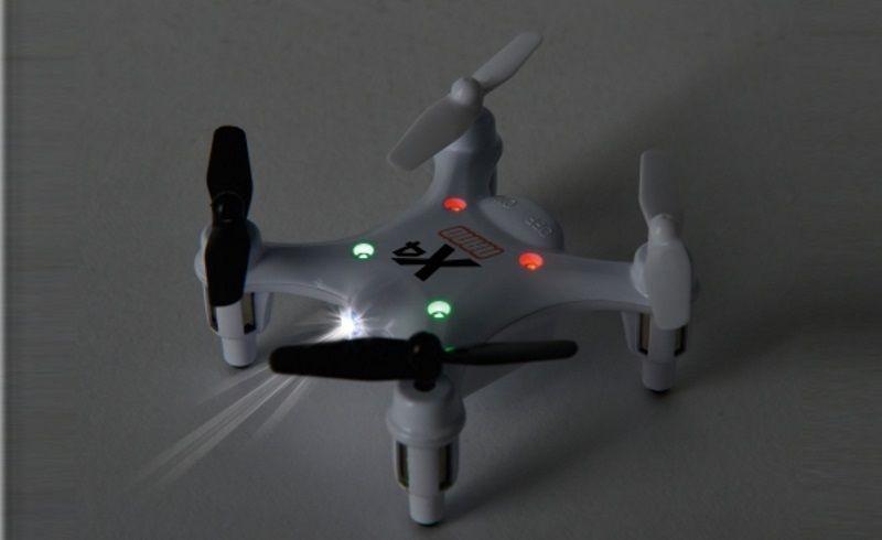 Carson X4 Quadcopter NANO 100% RTF (weiß) 507079 – Bild 3