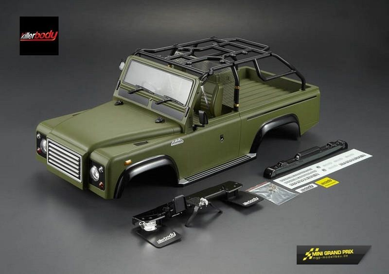 Killerbody 1:10 Karosserie MARAUDER, Military Green, RTU all-In KB48419 – Bild 1