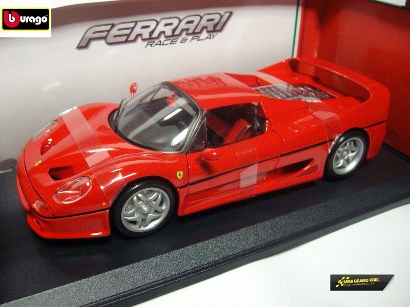 Bburago Ferrari F50, rot 1:18 Die Cast 16004R – Bild 3