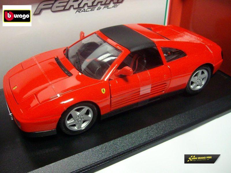 Bburago Ferrari 348ts rot 1:18 Die Cast 16006R – Bild 1