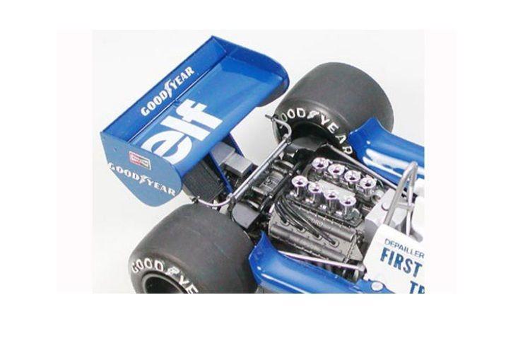 Tamiya 1:20 Tyrrell P34 Six Wheeler Monaco GP´77 20053 Plastik Bausatz – Bild 7